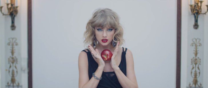 """Pin for Later: See the Crazy-Gorgeous Fashion in Taylor's New """"Blank Space"""" Video Dripping in Bling"""