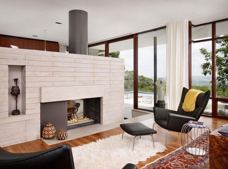 sitzecke kamin wohnliche einrichtungsideen, sitzecke vor dem kamin – 43 wohnliche einrichtungsideen, Design ideen