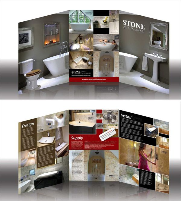 New Beautiful Corporate Brochure Design Ideas  Examples  Graphic