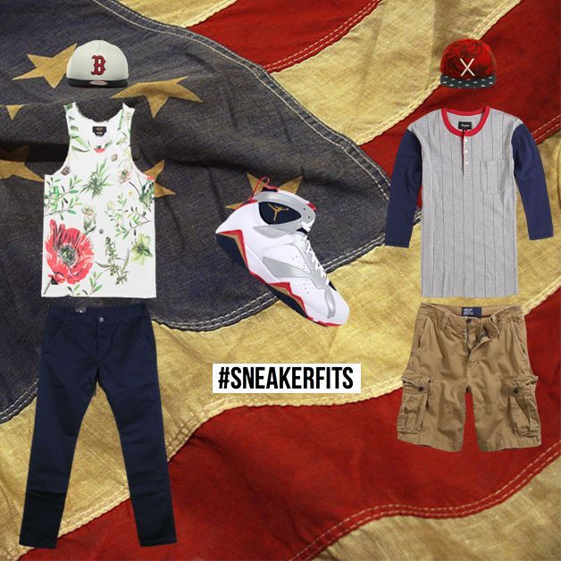 1a11a080096d What To Wear With The Air Jordan 7 Olympic