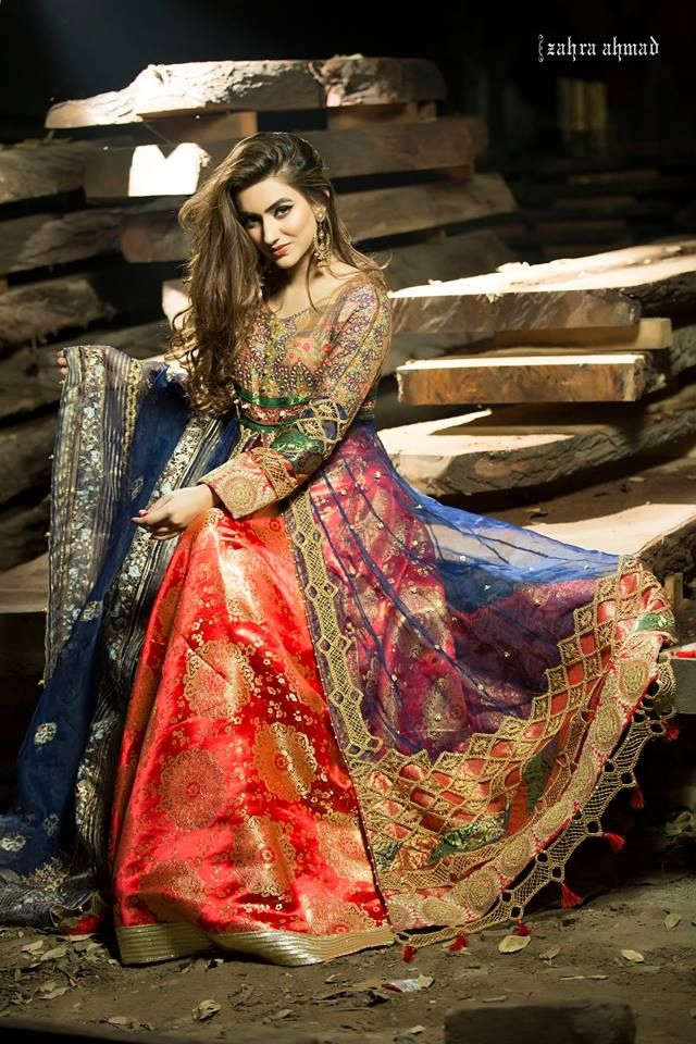 d0ec39a58b2 Latest Women Party Wear Fancy Formal Dresses 2018-19 Designs