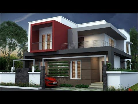 Selected Beautiful Home Designs Modern House Elevation Models Youtube Beautiful Modern Homes Bungalow House Design House Architecture Design