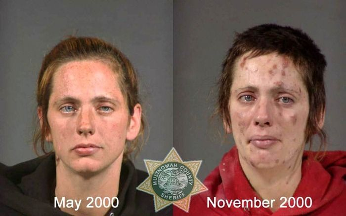 crack users before and after