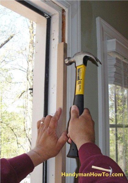 replace an exterior door | Doors | Diy exterior door jamb, Exterior