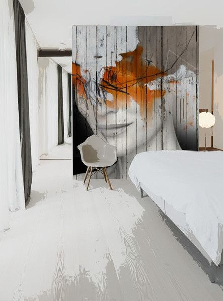 LIA Leuk Interieur Advies/Lovely Interior Advice: Murals on Wooden ...