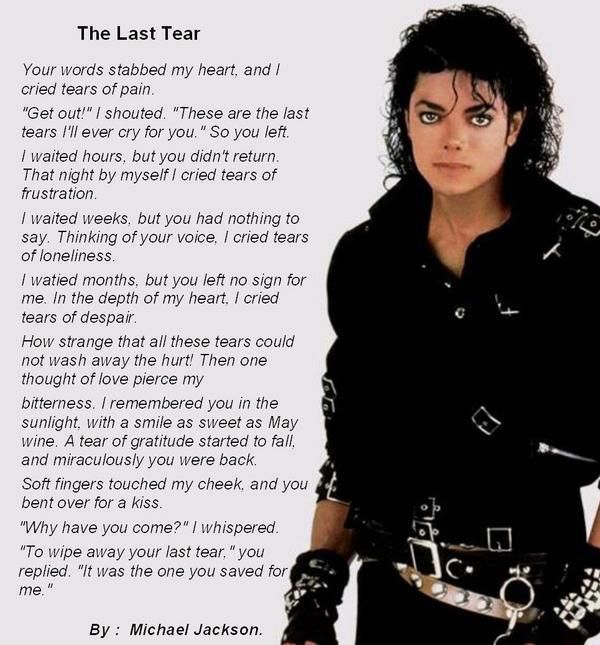 Michael Jackson Poems 5