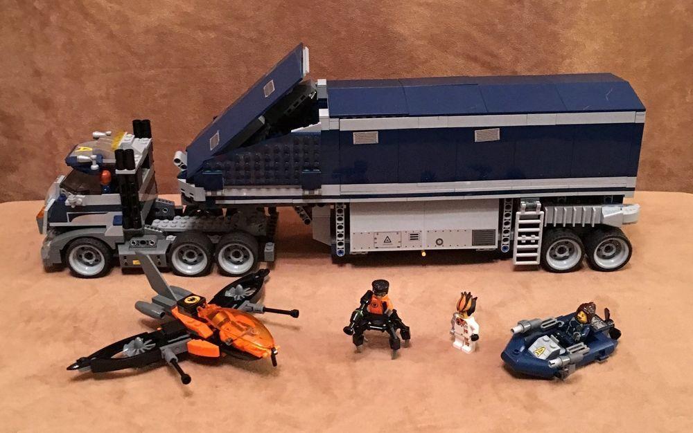 8635 Lego Complete Original Agents Mobile Command Center Box