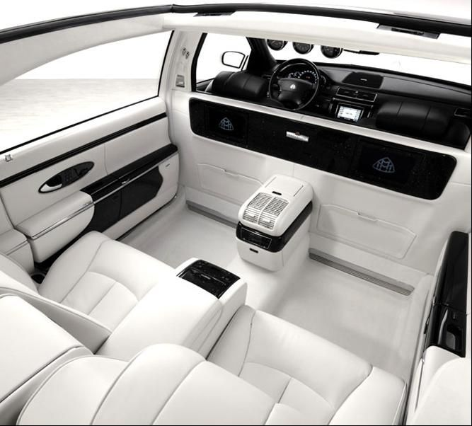 Life Is Good. The 2011 Maybach Landaulet.