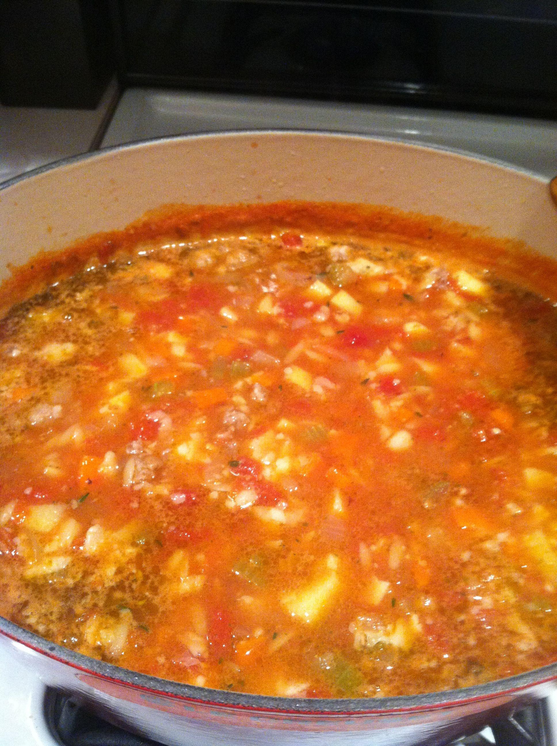 Barefoot Contessa Winter Soup