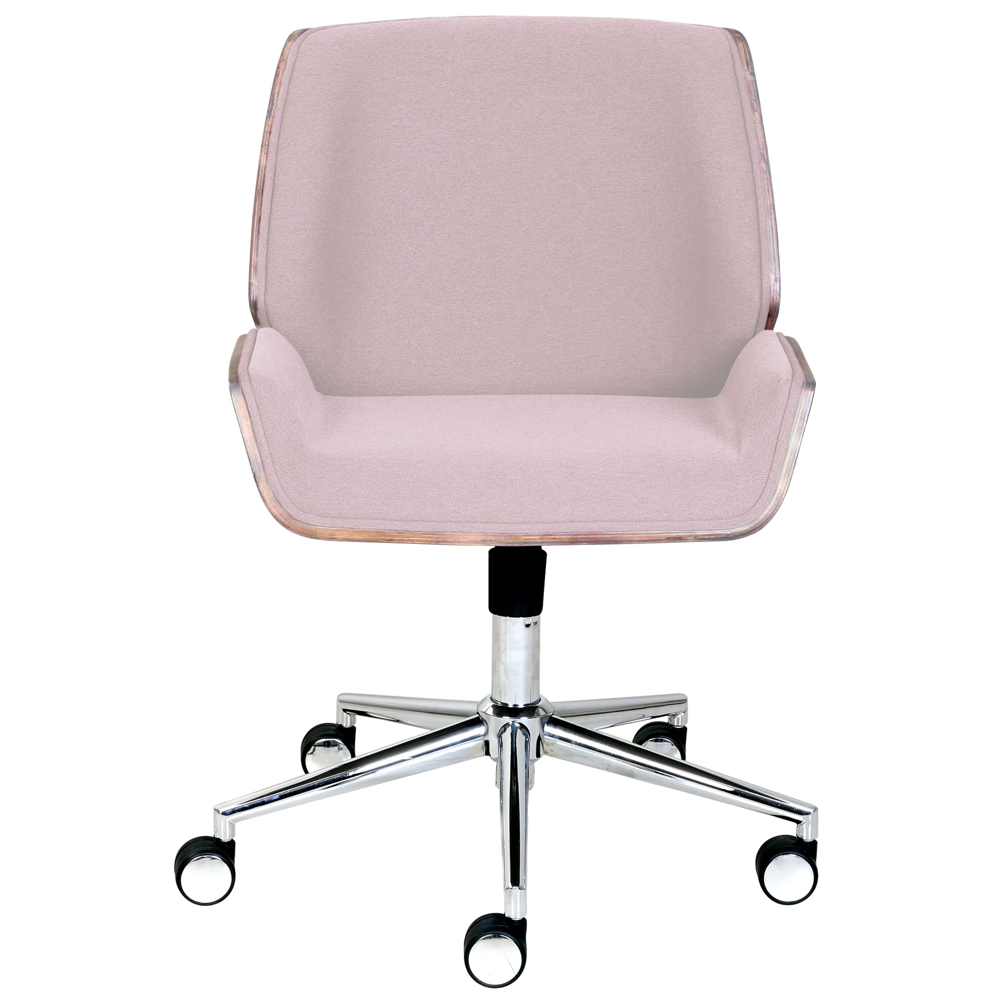 Sensational Elle Decor Ophelia Bentwood Metal Fabric Task Chair Pink Ibusinesslaw Wood Chair Design Ideas Ibusinesslaworg