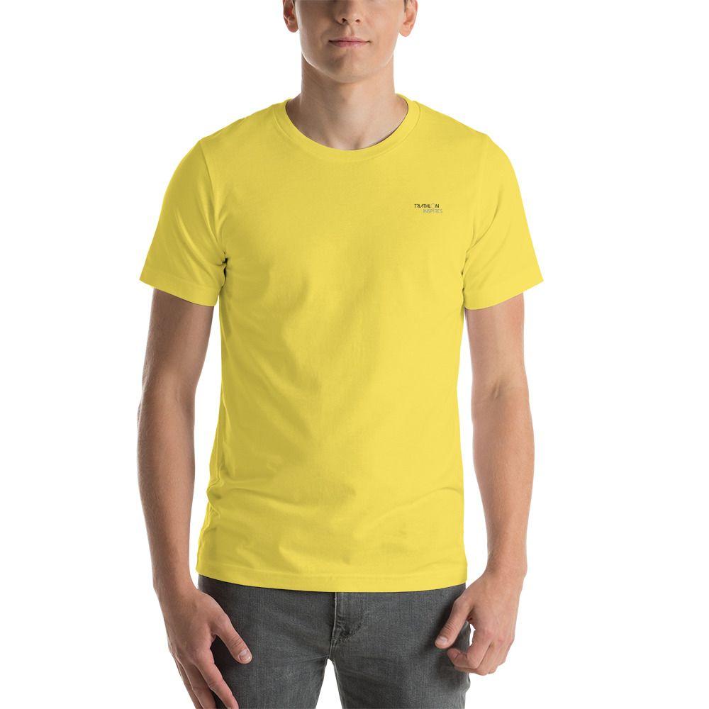 52386b35734160 Triathlon Inspires Short-Sleeve Unisex Embroidered T-Shirt #fashion # clothing #shoes #accessories #unisexclothingshoesaccs #unisexadultclothing  (ebay link)