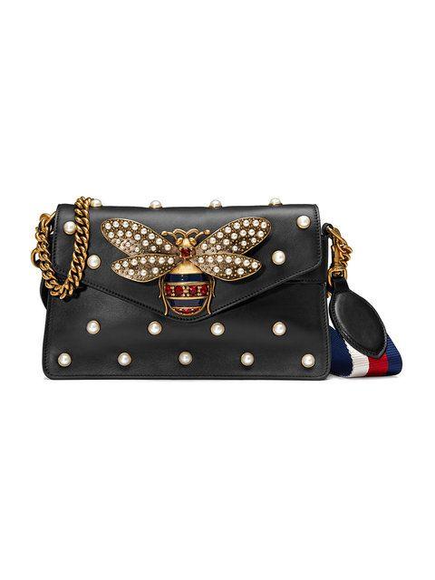 19e48373d088 Gucci Broadway Leather Mini Bag | Gucci | Gucci purses, Leather ...