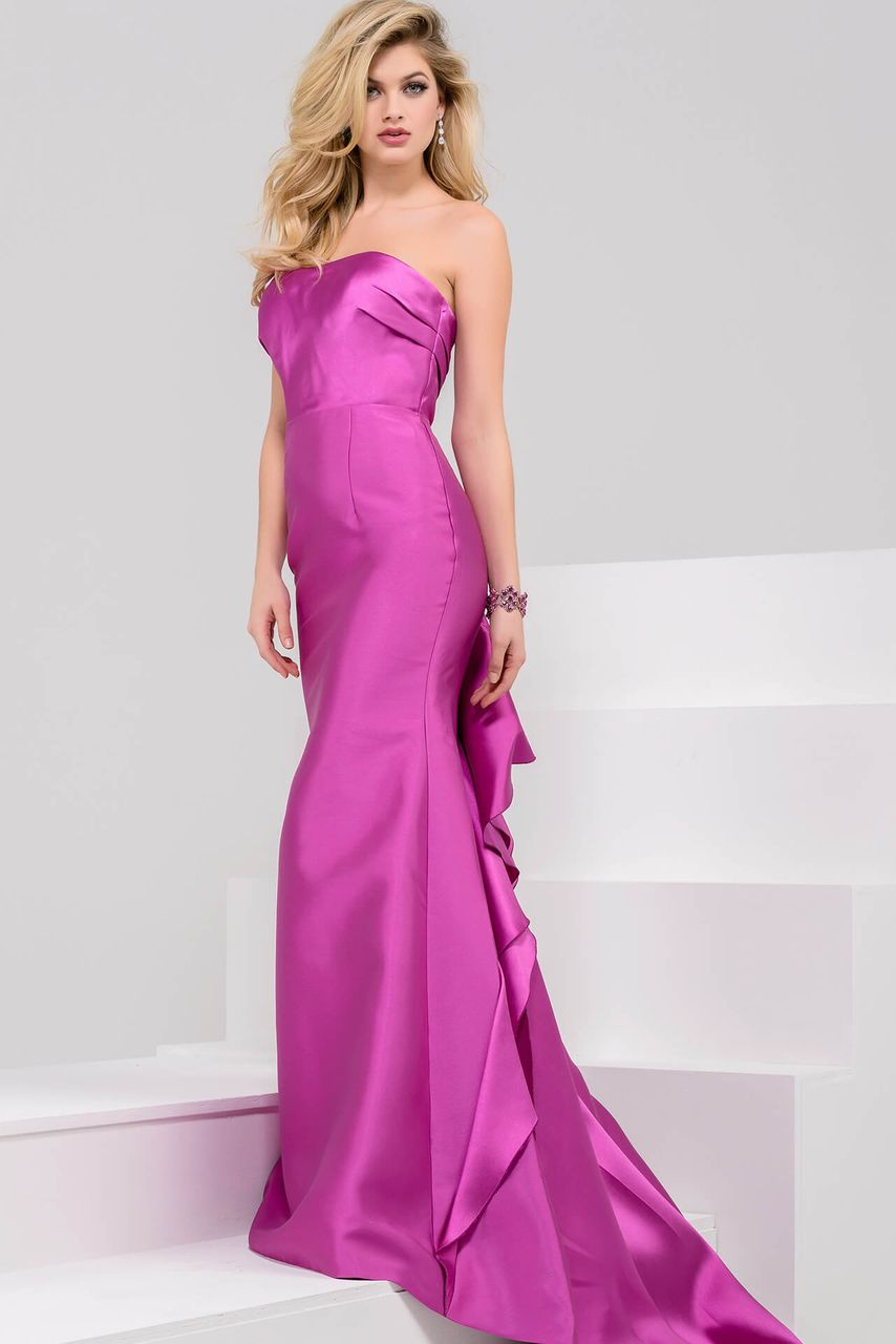 Jovani - 32329 Strapless Mikado Mermaid Dress