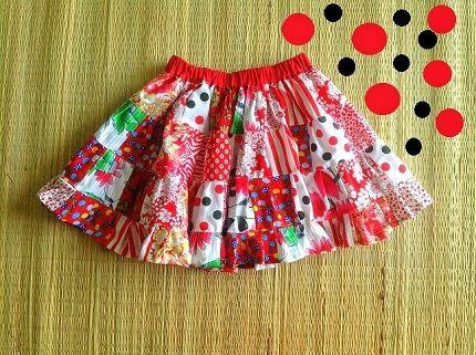 Tutorial: remiendo falda con gradas de la niña