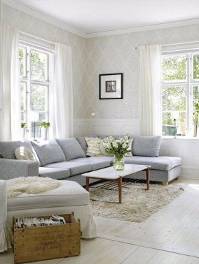 Chaise Longue Gris Azulado Decoracion De Interiores Hogar Decoración Hogar