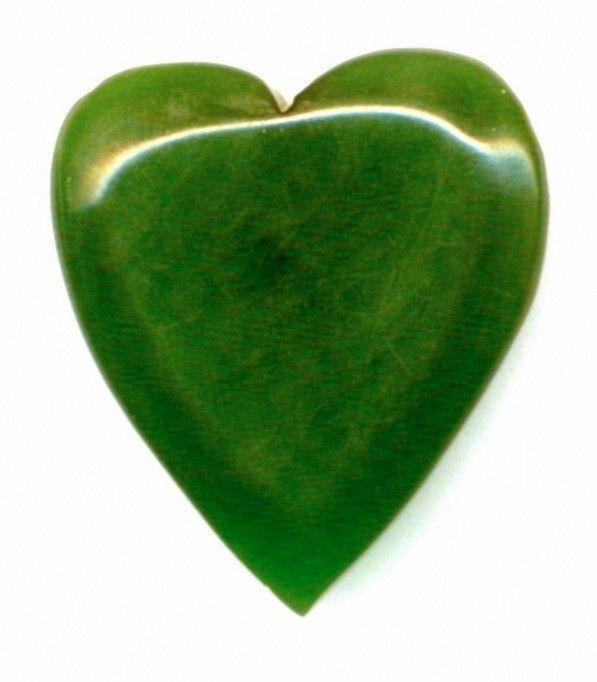 Vintage Bakelite Button..Chunky Greet Heart