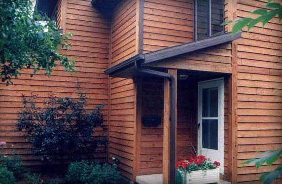 Natural Cedar Siding Wood Restoration After Cedar Clapboard Siding Wood Siding Exterior Wood Siding House