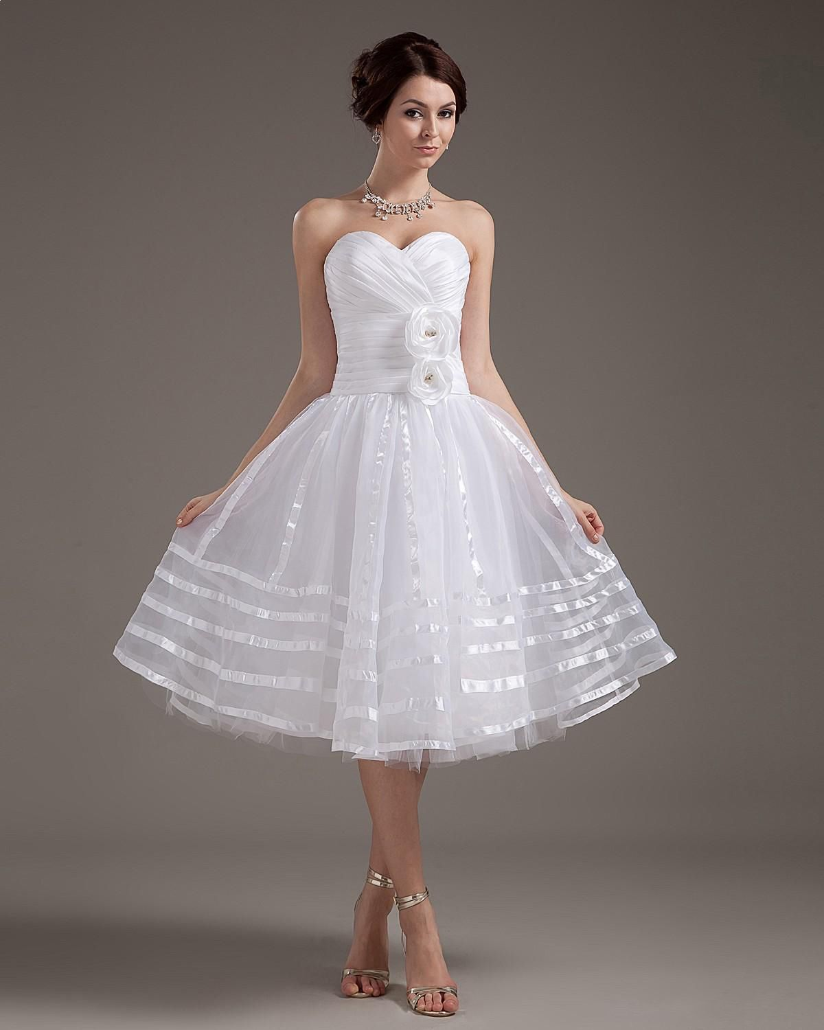 Elegant Strapless Short Wedding Dress Read More Image1nextdressin Indexphprelegant