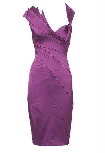 Karen Millen Purple Cocktail Dress Loud And Proud Brighten Up