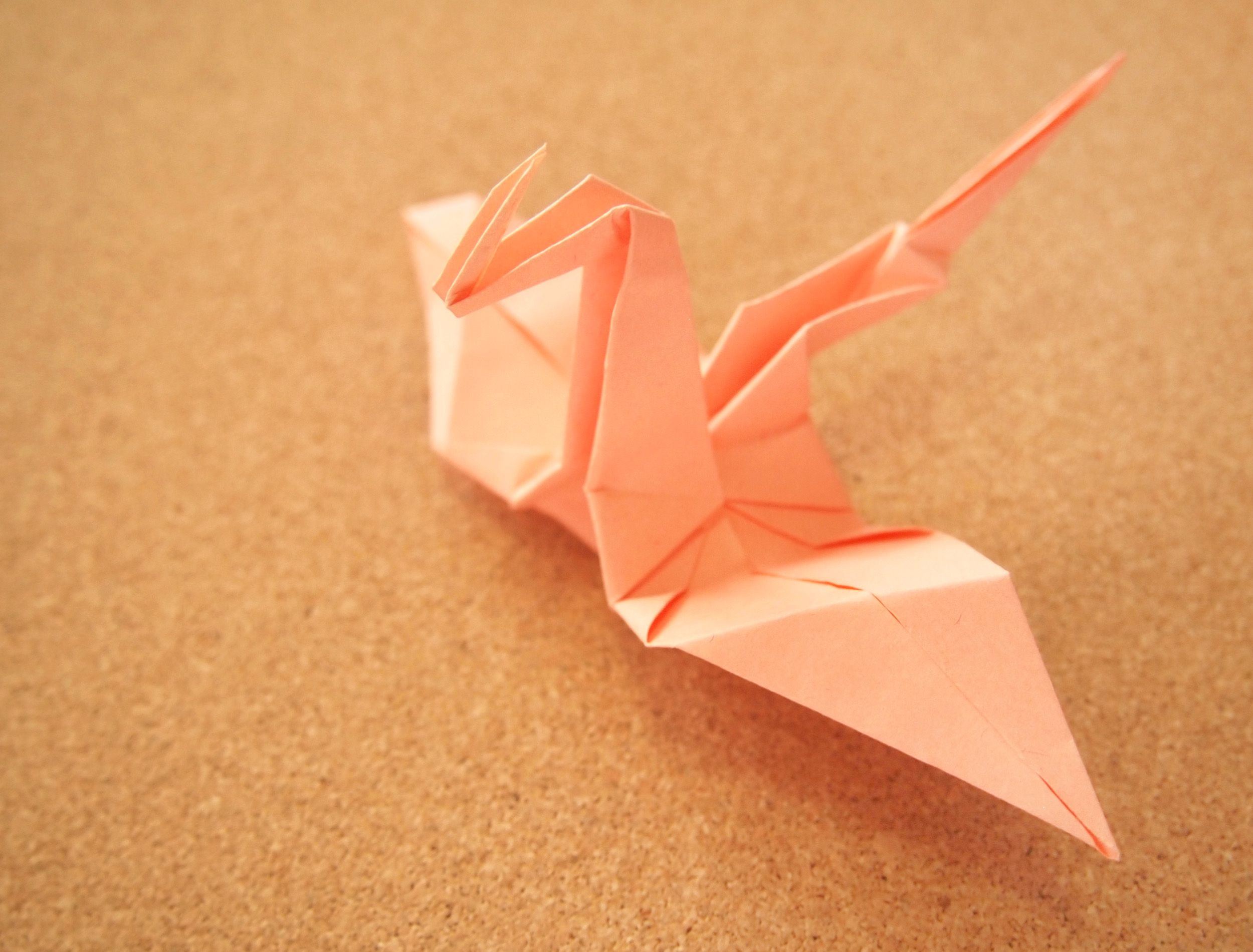 Make an Origami Dragon | How to make an, Origami and How ... - photo#25