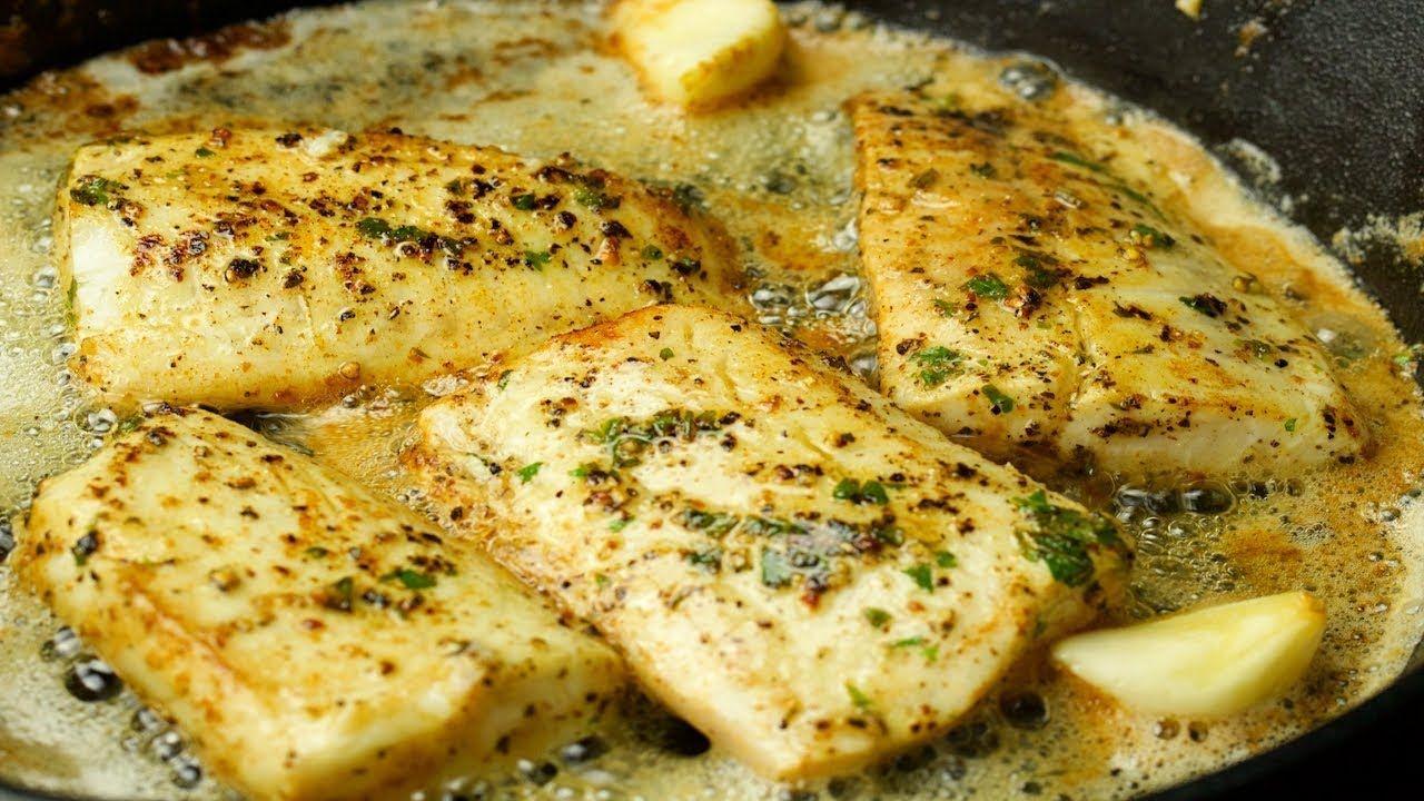 Lemon Cod Fish By Naughty Food Youtube In 2020 Food Fish Dinner Cod Fish