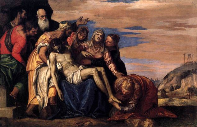 Paolo Veronese - Lamentation over the Dead Christ: ca 1547