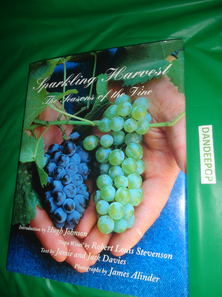 Sparkling Harvest The Seasons Of the Vine 1997 Book find me at www.dandeepop.com