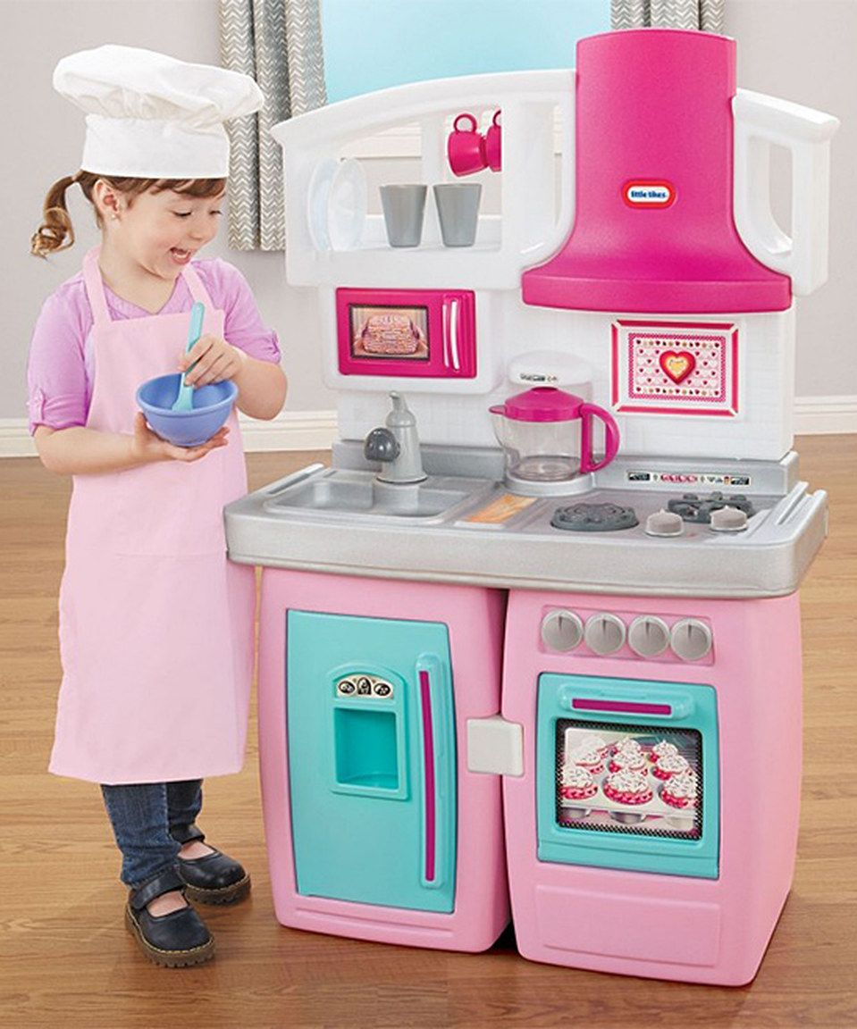 This Little Tikes Bake N Grow Kitchen Play Set By Is Perfect