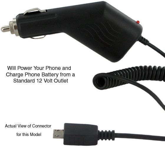 Empire Scientific ECH-1111 Motorola Razr V8/V9 Micro Usb Car Charger
