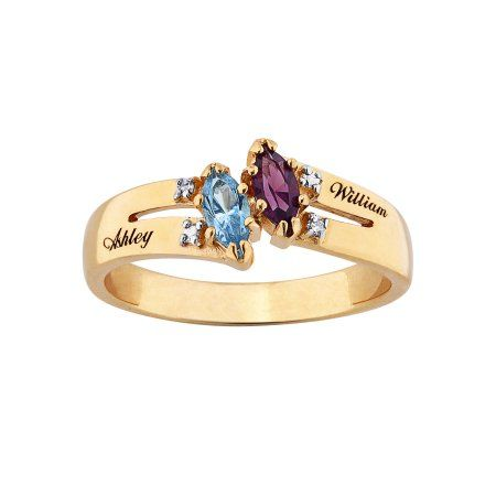 Family Jewelry Women S Personalized 10kt Gold Couple S