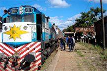 Viaje en tren - Argentina
