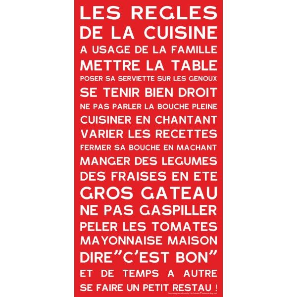 R gles de la cuisine citations pinterest la cuisine for Affiche les regles de la maison