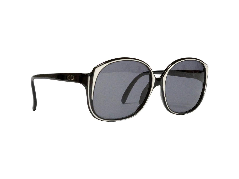 Black Vintage Dior Sunglasses   Christian Dior Eyeglasses   80s ...