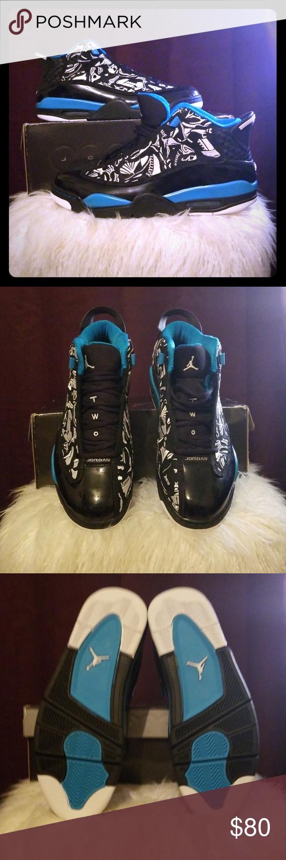 578957bb6fc2 AIR JORDAN DUB ZERO AIR JORDAN Black White-Laser Blue Launch Date  5 23 09  Jordan Shoes Athletic Shoes