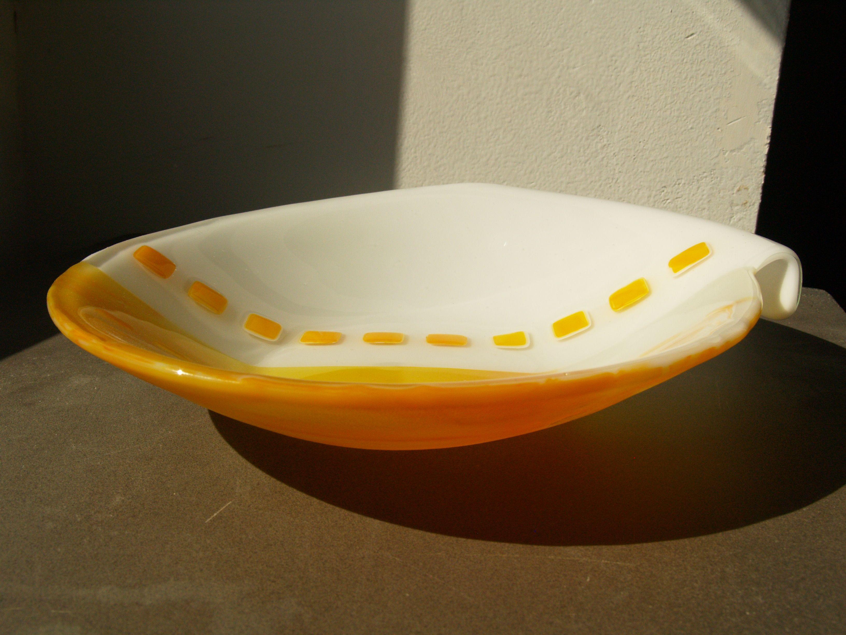 Fused Glass Collar bowl