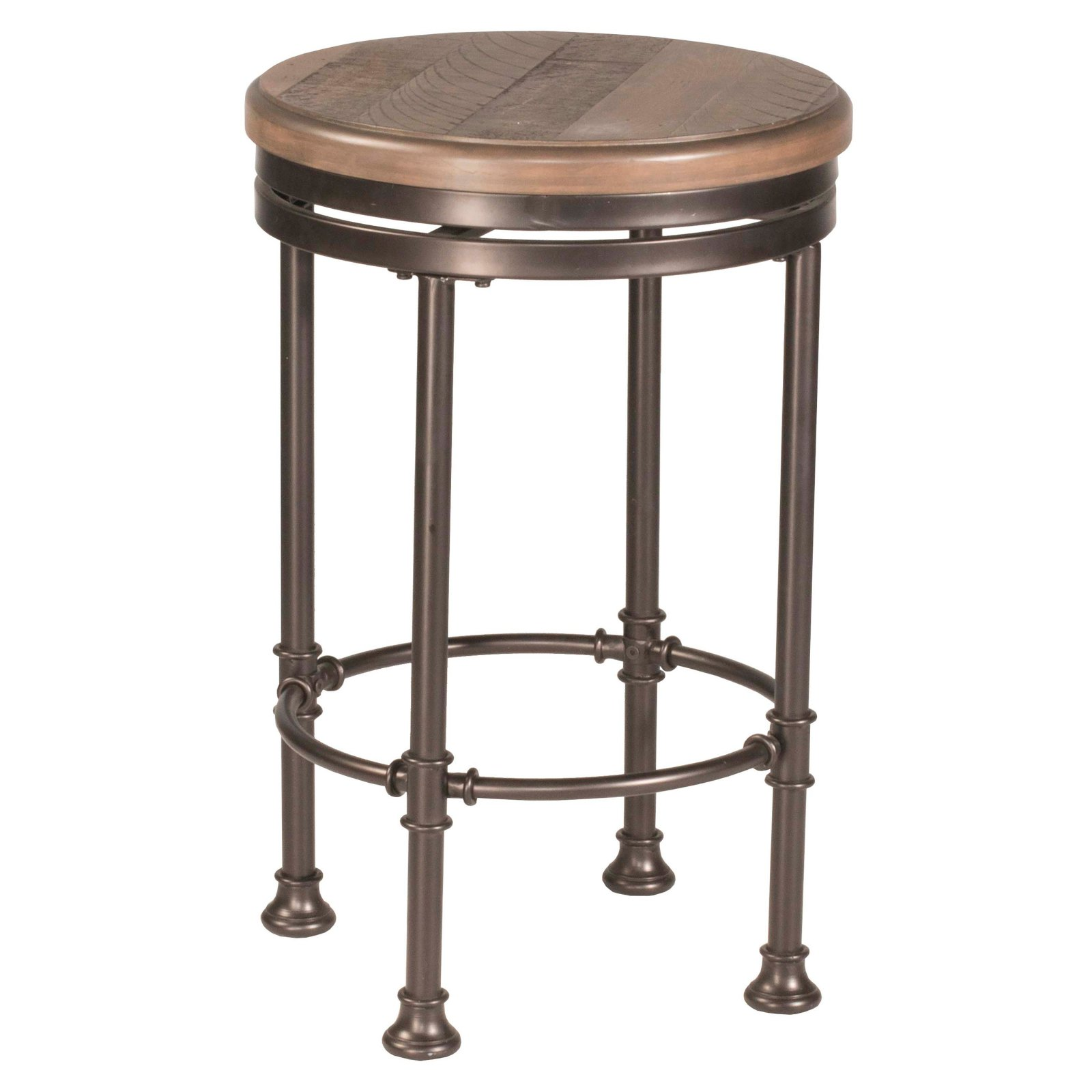 Stupendous Hillsdale Casselberry Swivel Backless Round Counter Stool Pabps2019 Chair Design Images Pabps2019Com