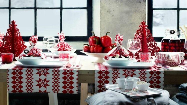 Décoration table Noël: des idées pour s'inspirer | Noel on