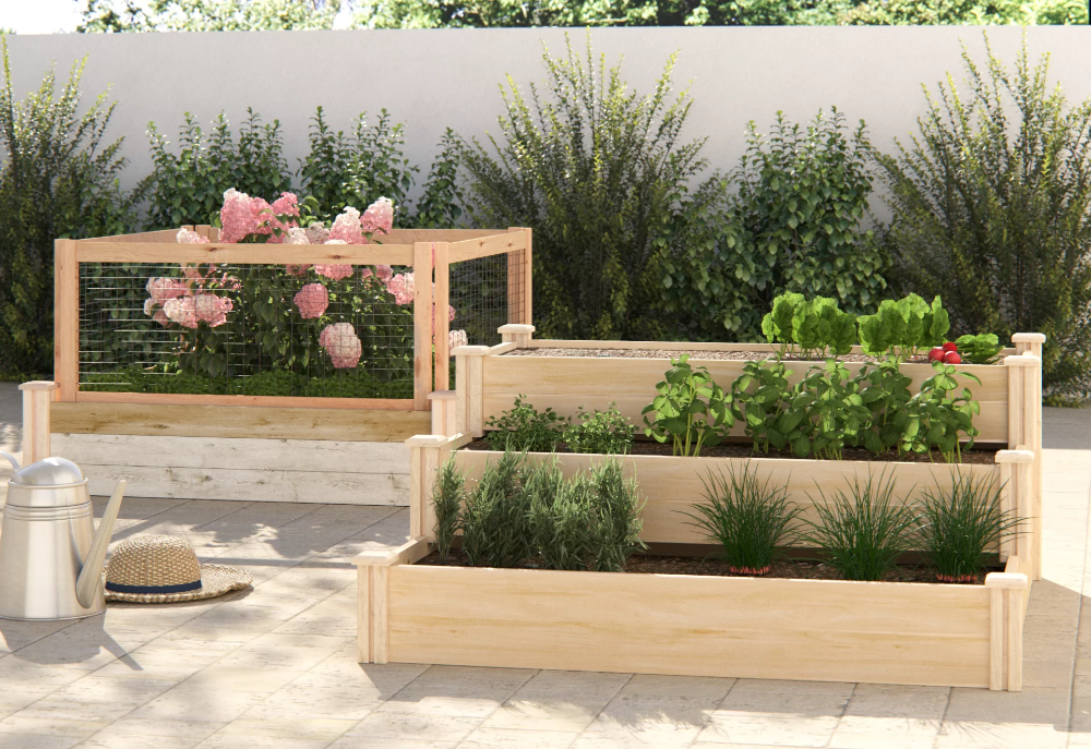 Shop our BIG SALE on Our Best Raised Bed Planters at