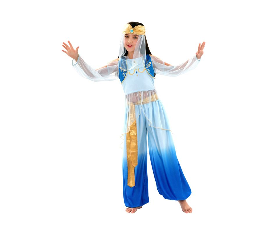 24.50€ 1 ud. Disfraz de Princesa Mora para niñas de 10 a