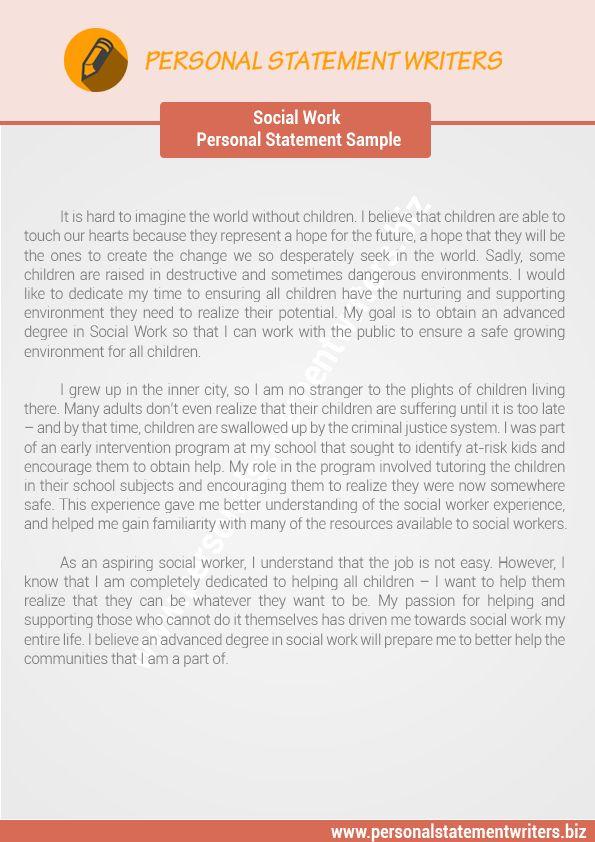 wwwpersonalstatementwritersbiz/ Personal Statement