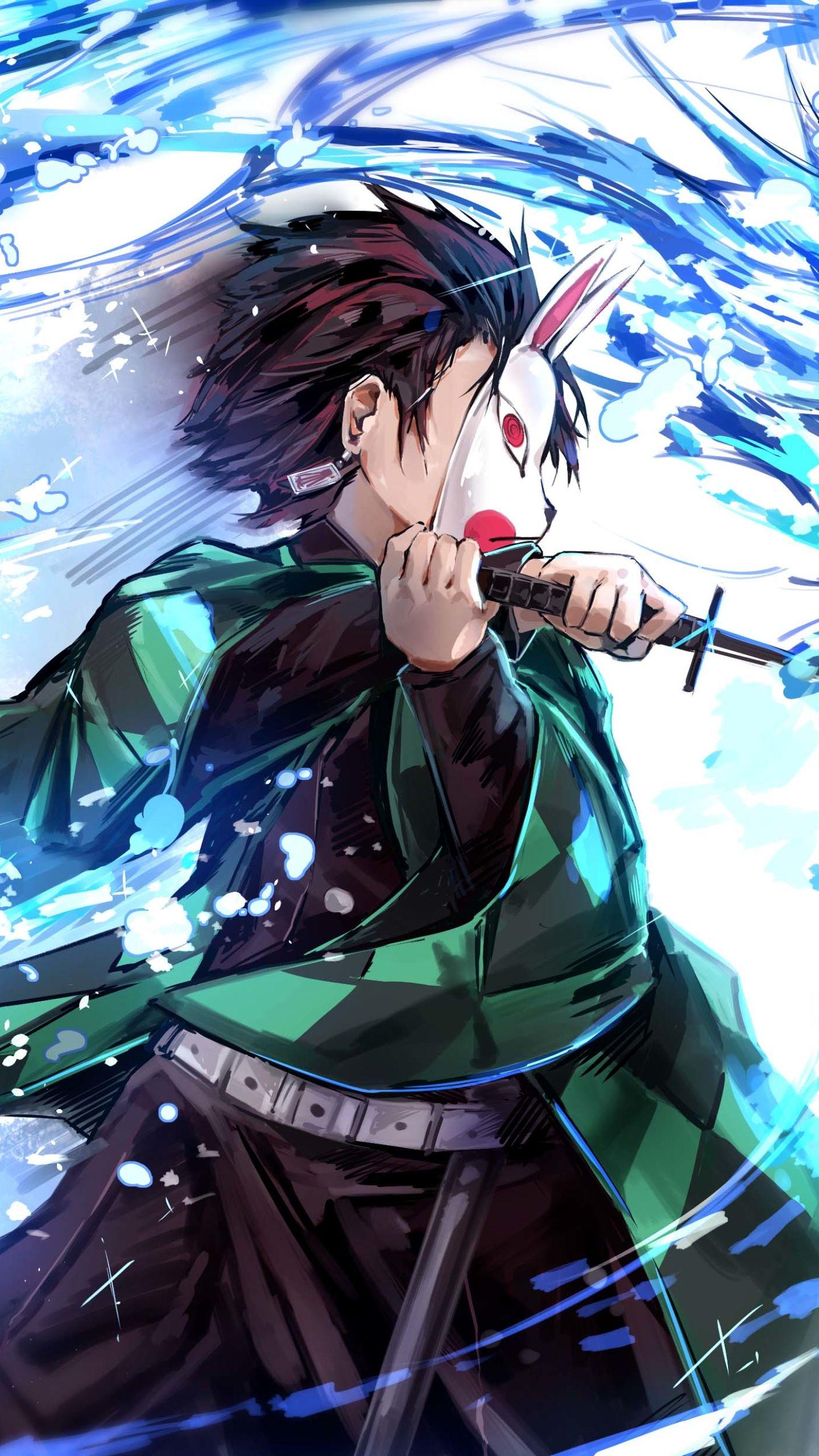 Demon Slayer Kimetsu No Yaiba Phone Wallpapers Wallpaper Cave Wallpaper Anime Gambar Manga Gambar