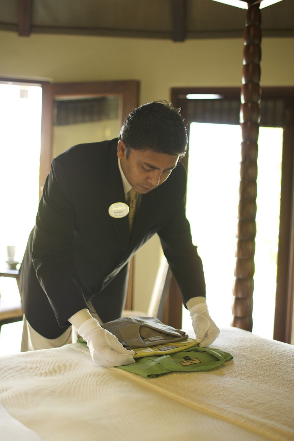 Great butlers at Sandals Grande St. Lucian Sandals