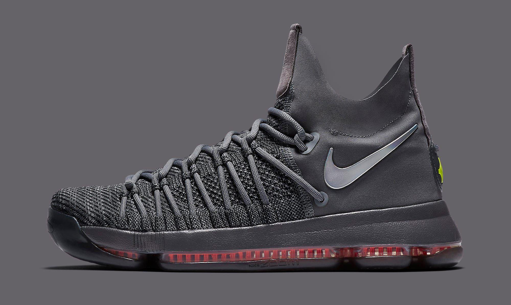 324cb5bfa1a7 Nike KD 9 Elite TS EP 909140-013 Grey Profile