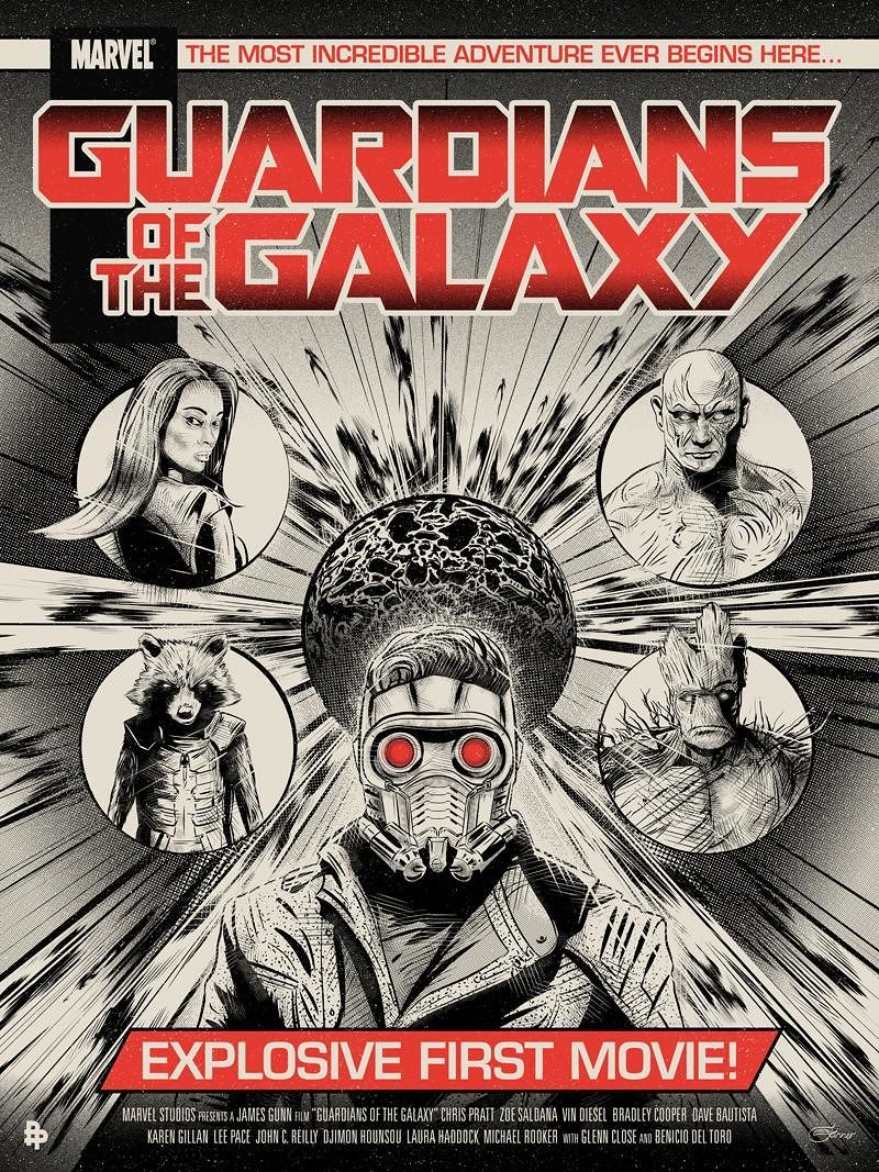 Guardians of the Galaxy by Chris Skinner