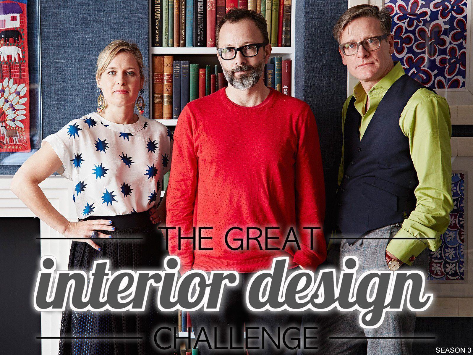 Must watch tv the great interior design challenge on - Interior design shows on netflix ...