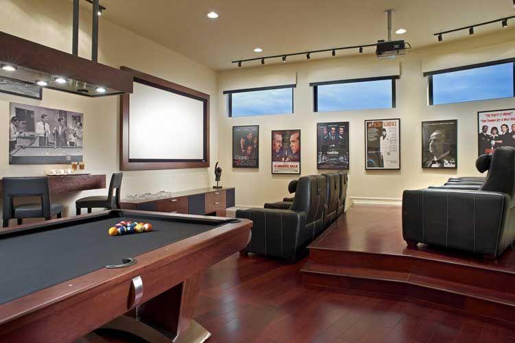 Casas decoradas con una sala de cine cine en casa - Sala de cine en casa ...