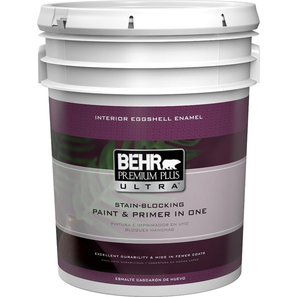 behr ultra 5 gal ultra pure white eggshell enamel on behr premium paint colors id=22164