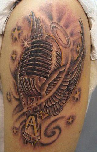 tatuajes de microfonos - Buscar con Google
