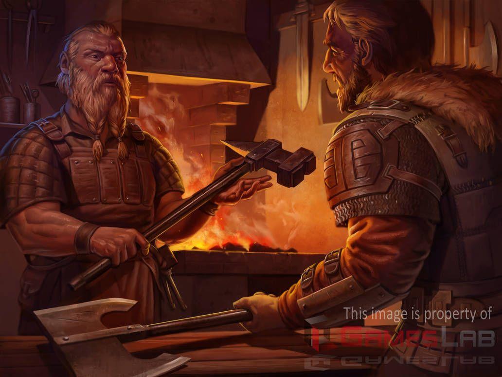 Pin By Lokstarvalhallen On Krasnoludy Fantasy Dwarf Art Fantasy Illustration