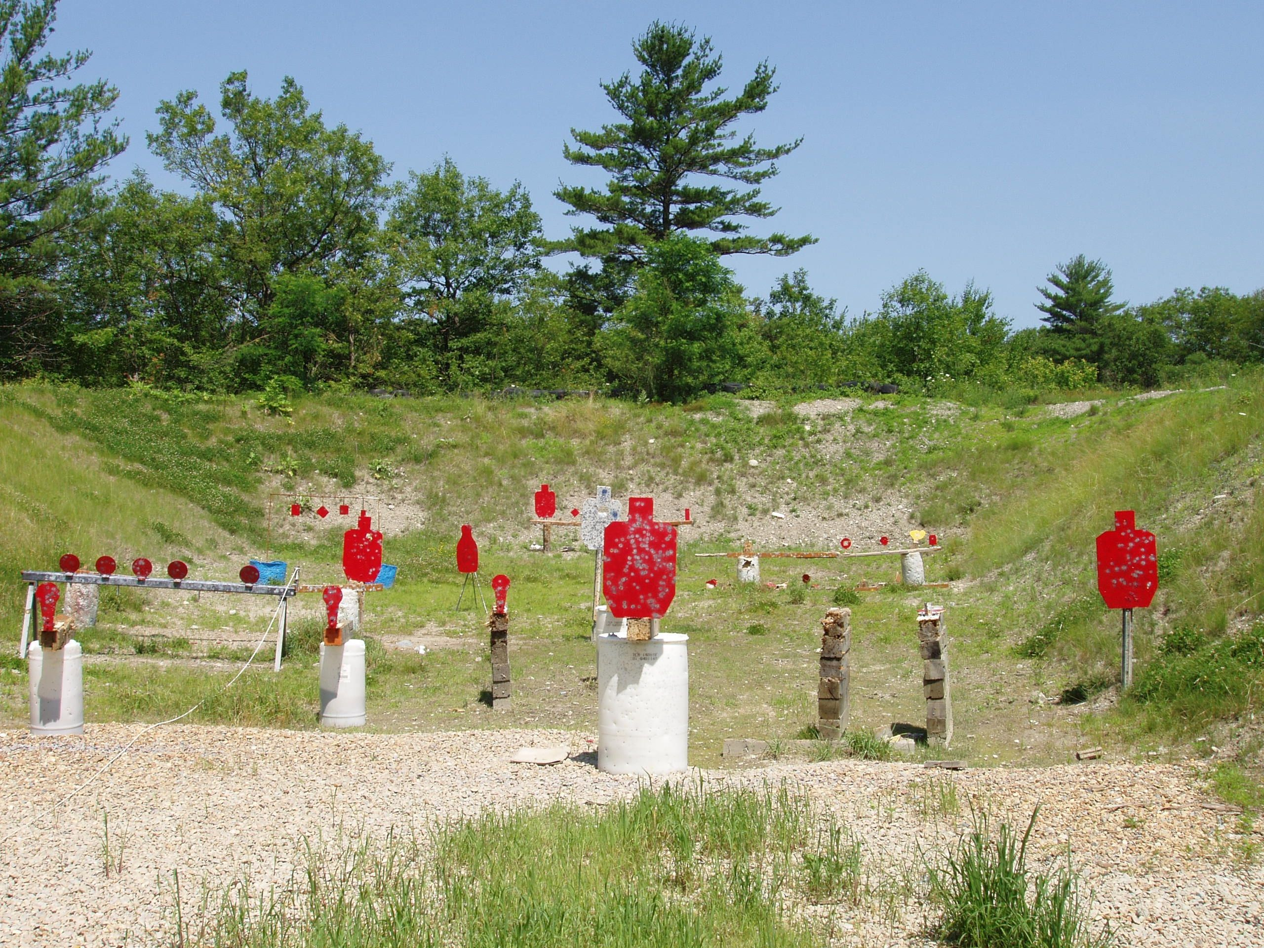Build An Awesome Shooting Range In Your Backyard With